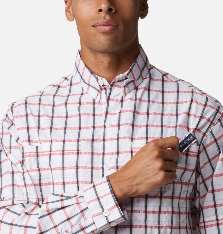 Super Tamiami™ LS Shirt | 468 | M Men's PFG Super Tamiami™ Long Sleeve Shirt, Collegiate Navy Plaid, a2