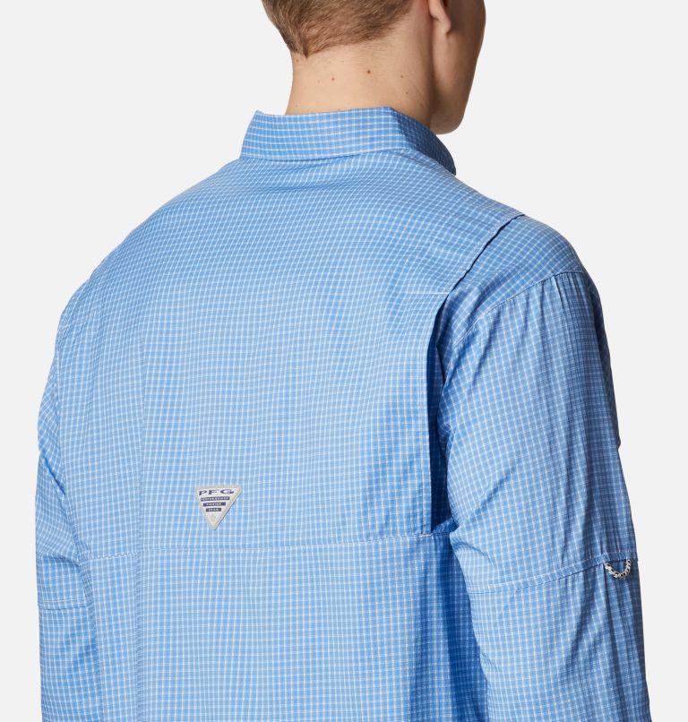 Super Tamiami™ LS Shirt | 481 | XL Men's PFG Super Tamiami™ Long Sleeve Shirt, Skyler Gingham, a3