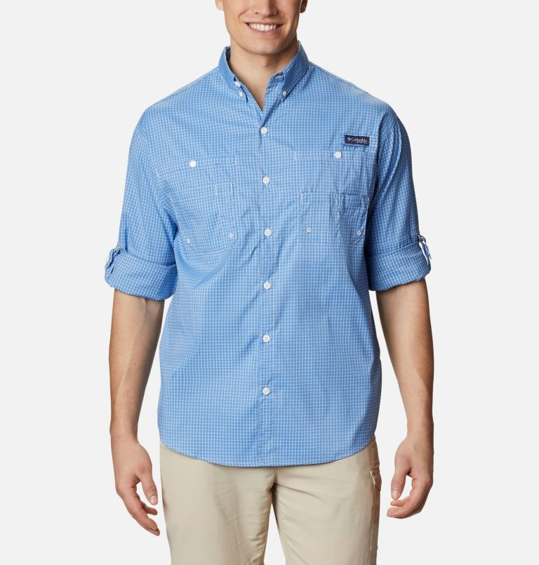 Super Tamiami™ LS Shirt | 481 | XL Men's PFG Super Tamiami™ Long Sleeve Shirt, Skyler Gingham, a4