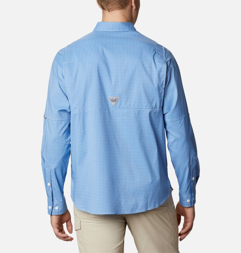 Super Tamiami™ LS Shirt | 481 | XS Men's PFG Super Tamiami™ Long Sleeve Shirt, Skyler Gingham, back