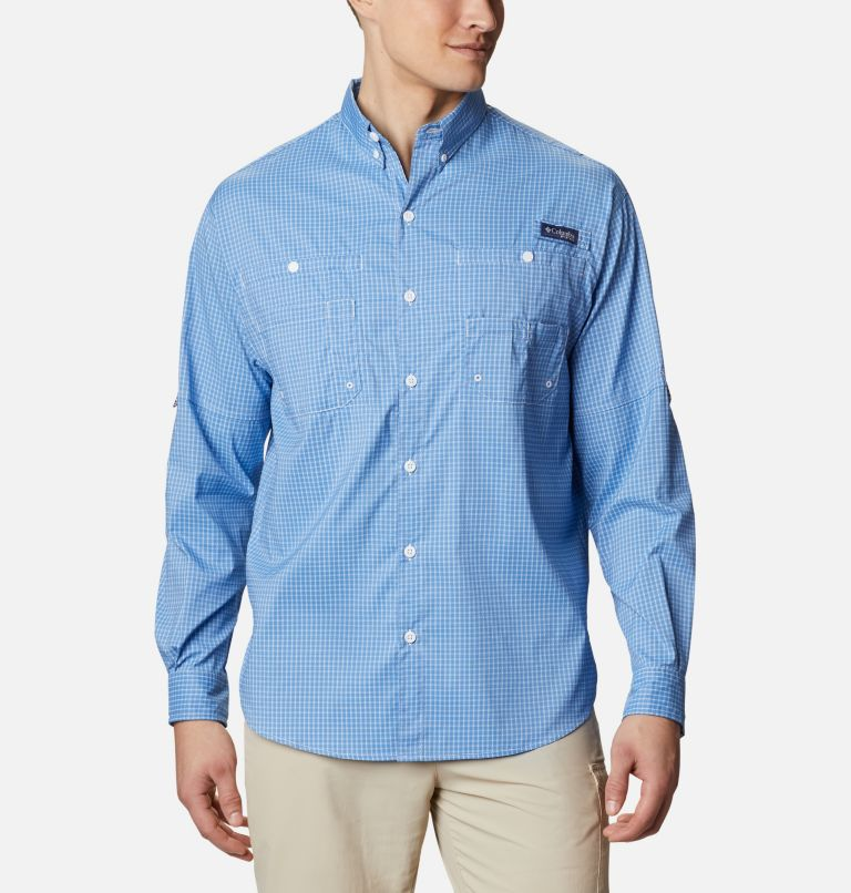 Super Tamiami™ LS Shirt | 481 | XL Men's PFG Super Tamiami™ Long Sleeve Shirt, Skyler Gingham, front