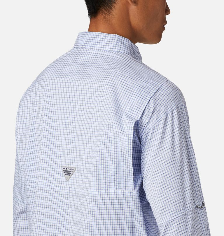Super Tamiami™ LS Shirt | 498 | XL Men's PFG Super Tamiami™ Long Sleeve Shirt, Vivid Blue Gingham, a2