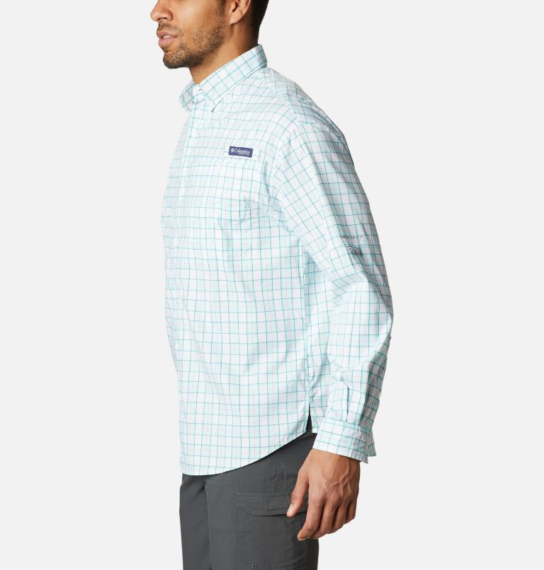 Super Tamiami™ LS Shirt | 504 | M Men's PFG Super Tamiami™ Long Sleeve Shirt, Gulf Stream Plaid, a1