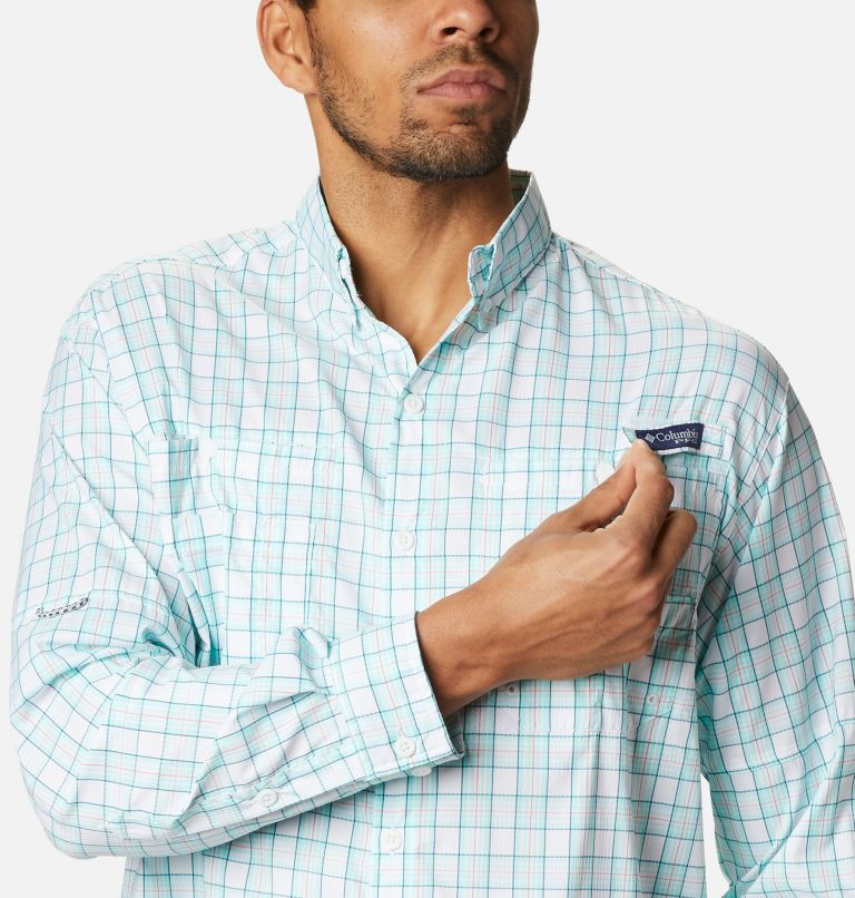 Super Tamiami™ LS Shirt | 504 | XL Men's PFG Super Tamiami™ Long Sleeve Shirt, Gulf Stream Plaid, a2