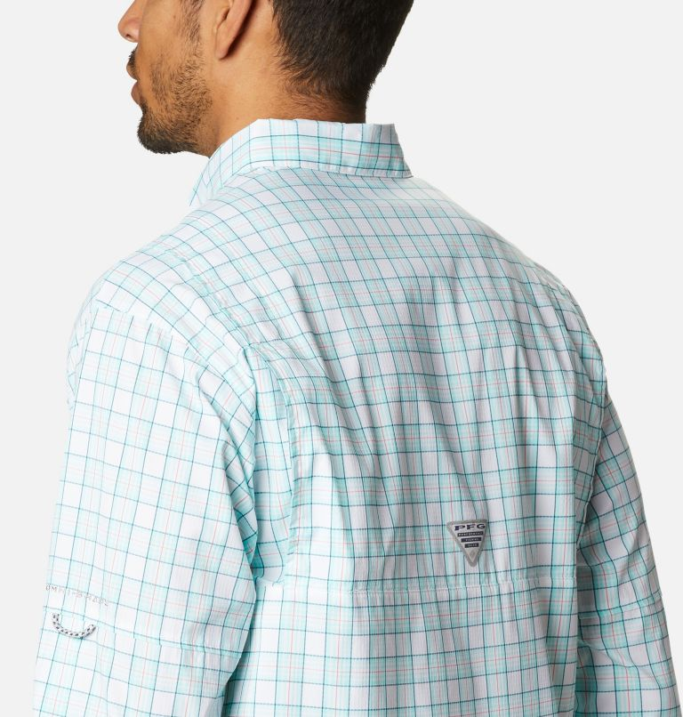Super Tamiami™ LS Shirt | 504 | XL Men's PFG Super Tamiami™ Long Sleeve Shirt, Gulf Stream Plaid, a3
