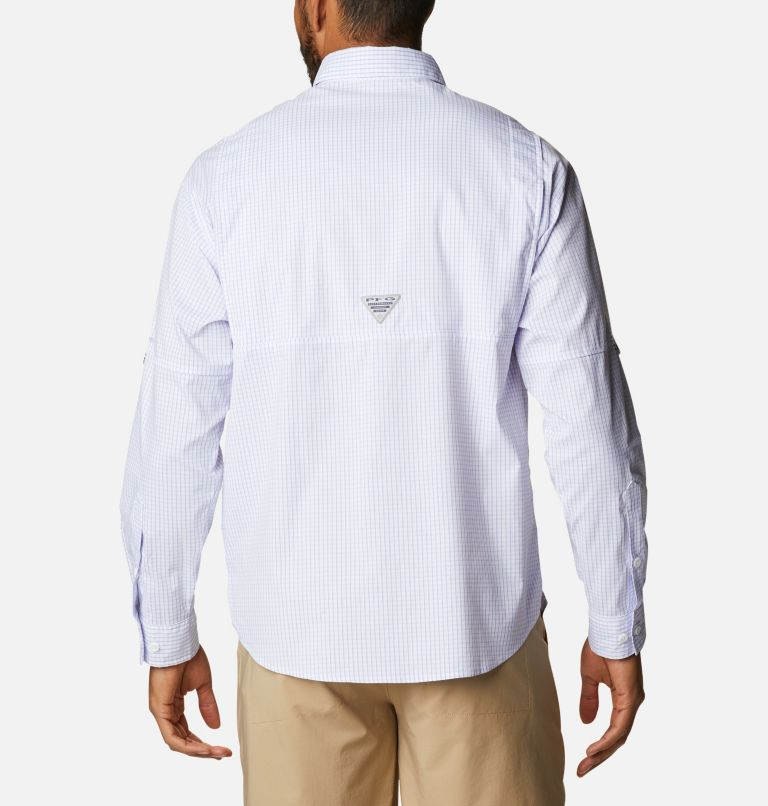 Super Tamiami™ LS Shirt   527   XL Men's PFG Super Tamiami™ Long Sleeve Shirt, Fairytale Gingham, back