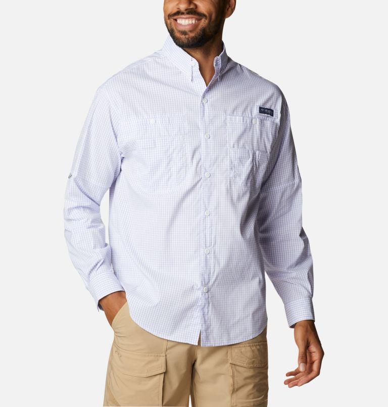 Super Tamiami™ LS Shirt   527   XL Men's PFG Super Tamiami™ Long Sleeve Shirt, Fairytale Gingham, front