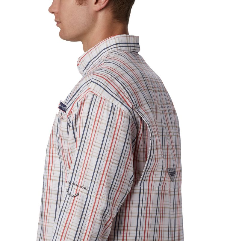 Super Tamiami™ LS Shirt | 697 | S Men's PFG Super Tamiami™ Long Sleeve Shirt, Red Spark Small Check, a3