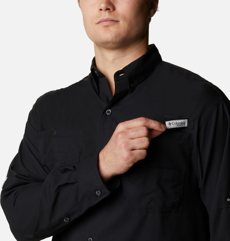 Tamiami™ II LS Shirt | 010 | L Men's PFG Tamiami™ II Long Sleeve Shirt, Black, a2