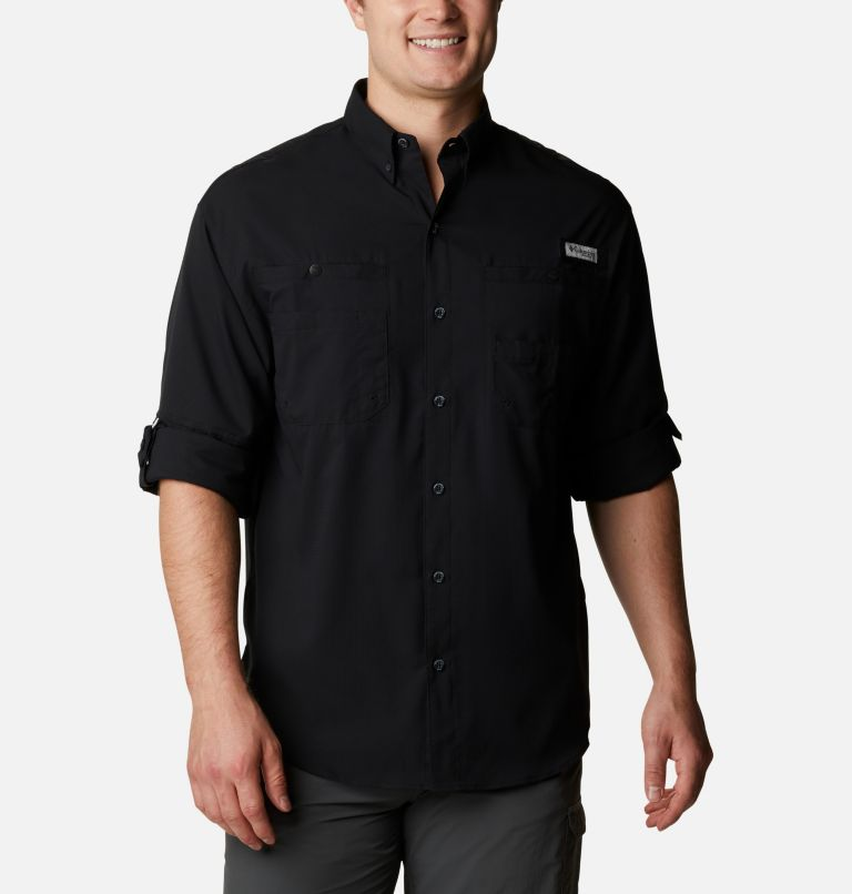 Tamiami™ II LS Shirt | 010 | L Men's PFG Tamiami™ II Long Sleeve Shirt, Black, a4