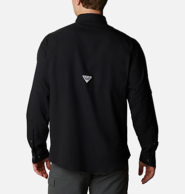 Men's PFG Tamiami™ II Long Sleeve Shirt Tamiami™ II LS Shirt | 479 | L, Black, back