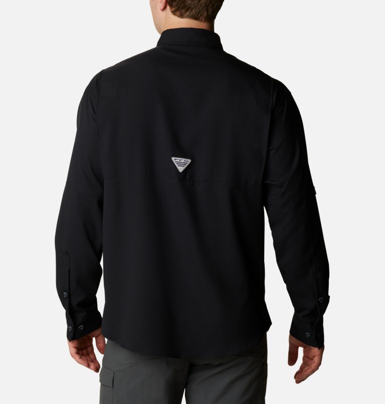 Tamiami™ II LS Shirt | 010 | S Men's PFG Tamiami™ II Long Sleeve Shirt, Black, back