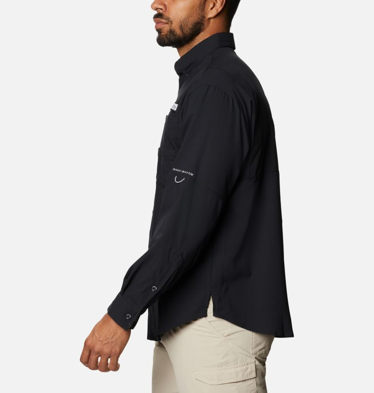Tamiami™ II LS Shirt | 013 | XXL Men's PFG Tamiami™ II Long Sleeve Shirt, Black, Realtree Edge, a1