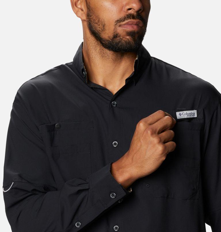 Tamiami™ II LS Shirt | 013 | XXL Men's PFG Tamiami™ II Long Sleeve Shirt, Black, Realtree Edge, a2