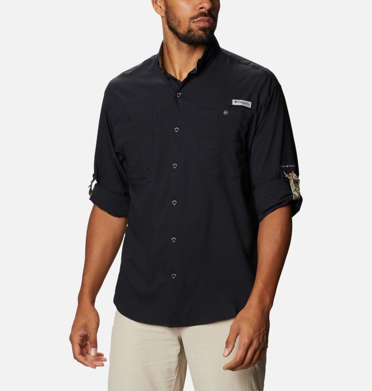 Tamiami™ II LS Shirt | 013 | XXL Men's PFG Tamiami™ II Long Sleeve Shirt, Black, Realtree Edge, a4