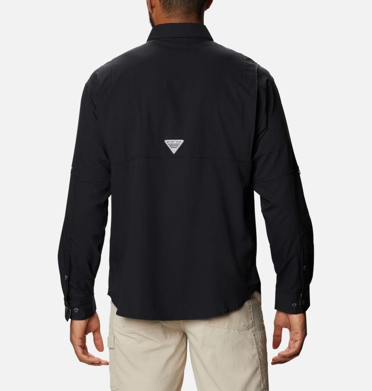 Tamiami™ II LS Shirt | 013 | XXL Men's PFG Tamiami™ II Long Sleeve Shirt, Black, Realtree Edge, back