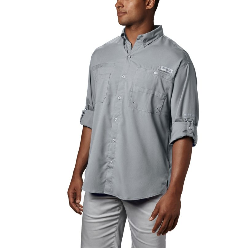 Tamiami™ II LS Shirt | 019 | XXL Men's PFG Tamiami™ II Long Sleeve Shirt, Cool Grey, a1