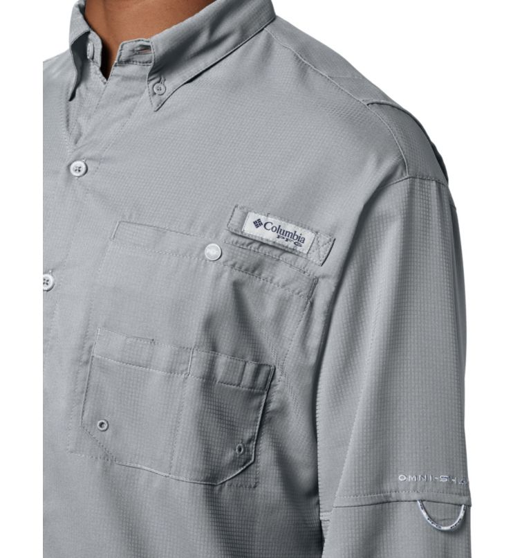 Tamiami™ II LS Shirt | 019 | XXL Men's PFG Tamiami™ II Long Sleeve Shirt, Cool Grey, a2