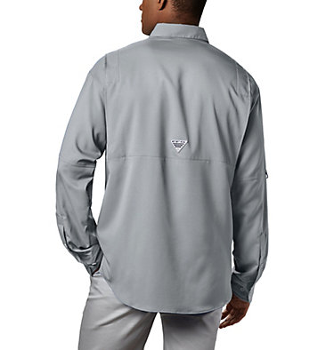 Men's PFG Tamiami™ II Long Sleeve Shirt Tamiami™ II LS Shirt | 479 | L, Cool Grey, back
