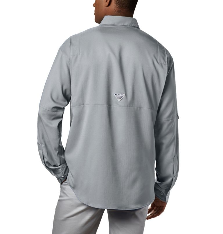 Tamiami™ II LS Shirt | 019 | XXL Men's PFG Tamiami™ II Long Sleeve Shirt, Cool Grey, back