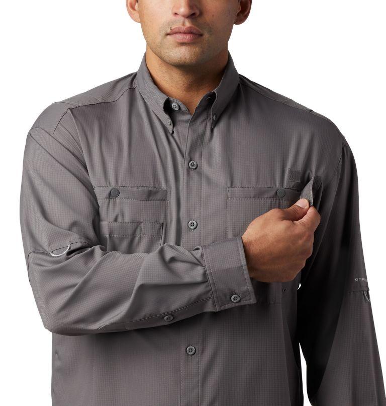 Tamiami™ II LS Shirt   023   M Men's PFG Tamiami™ II Long Sleeve Shirt, City Grey, a2