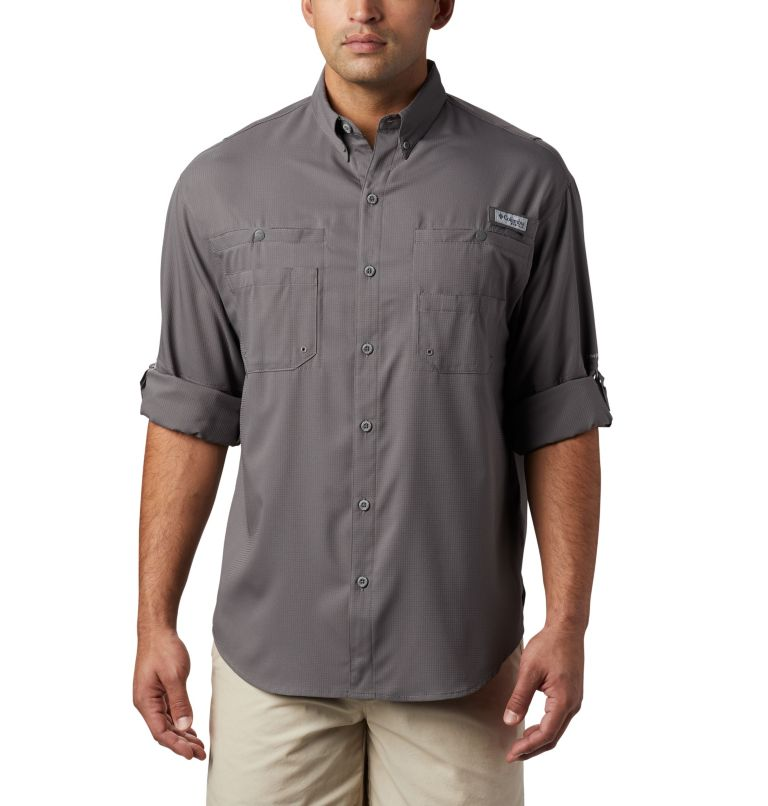 Tamiami™ II LS Shirt | 023 | XL Men's PFG Tamiami™ II Long Sleeve Shirt, City Grey, a4