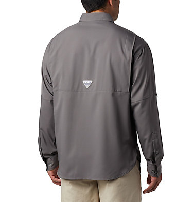 Men's PFG Tamiami™ II Long Sleeve Shirt Tamiami™ II LS Shirt | 341 | L, City Grey, back