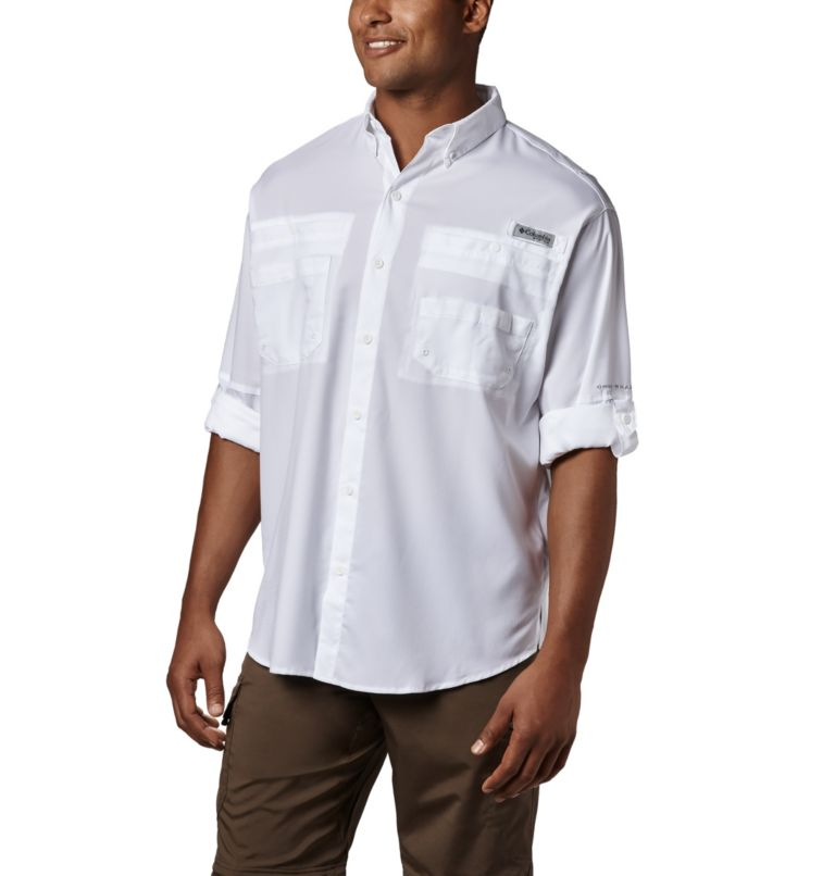 Tamiami™ II LS Shirt | 100 | M Men's PFG Tamiami™ II Long Sleeve Shirt, White, a1