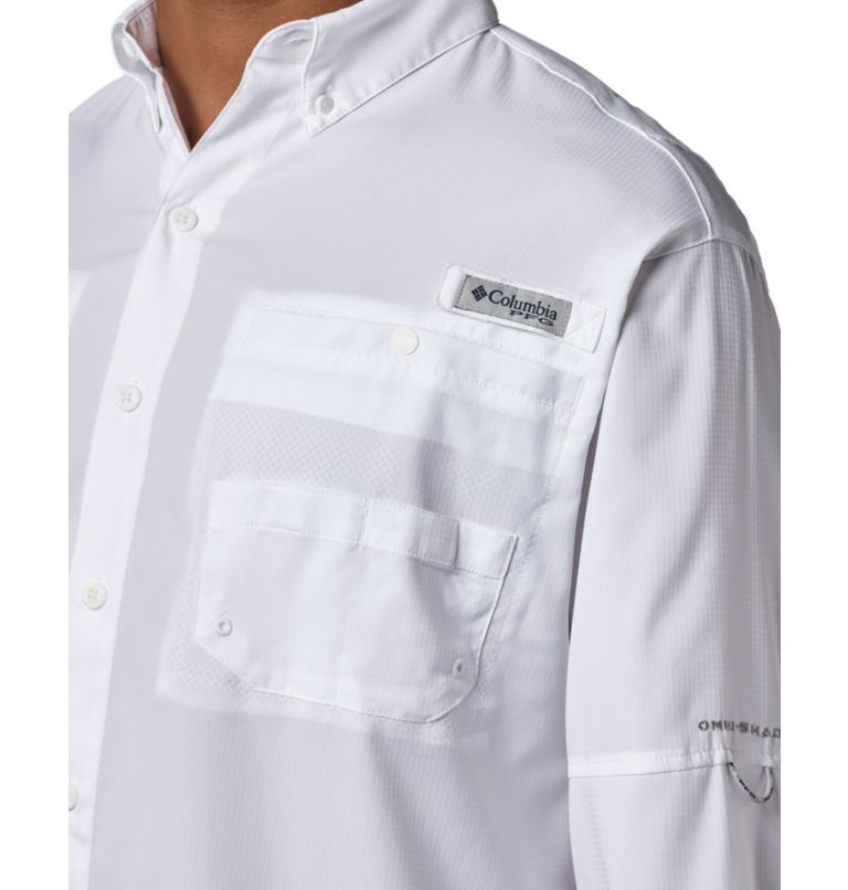 Tamiami™ II LS Shirt | 100 | XXL Men's PFG Tamiami™ II Long Sleeve Shirt, White, a2