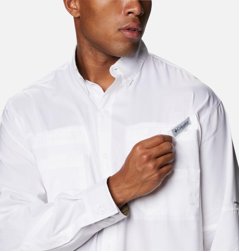 Tamiami™ II LS Shirt   100   S Men's PFG Tamiami™ II Long Sleeve Shirt, White, a2