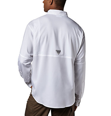 Men's PFG Tamiami™ II Long Sleeve Shirt Tamiami™ II LS Shirt | 479 | L, White, back