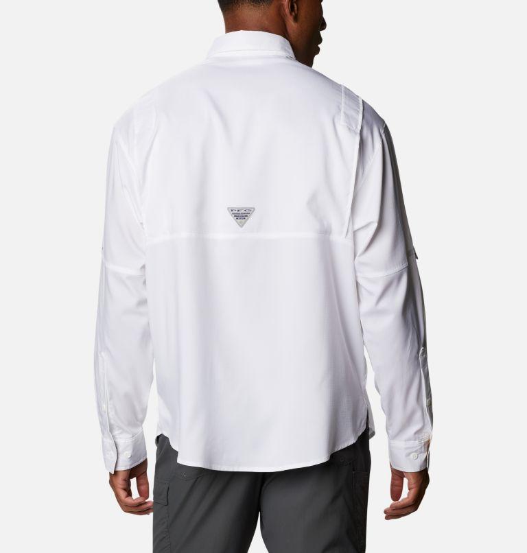 Tamiami™ II LS Shirt   100   S Men's PFG Tamiami™ II Long Sleeve Shirt, White, back