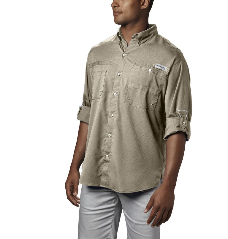Tamiami™ II LS Shirt | 160 | S Men's PFG Tamiami™ II Long Sleeve Shirt, Fossil, a1