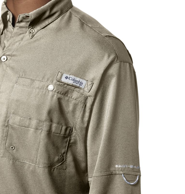 Tamiami™ II LS Shirt | 160 | S Men's PFG Tamiami™ II Long Sleeve Shirt, Fossil, a2
