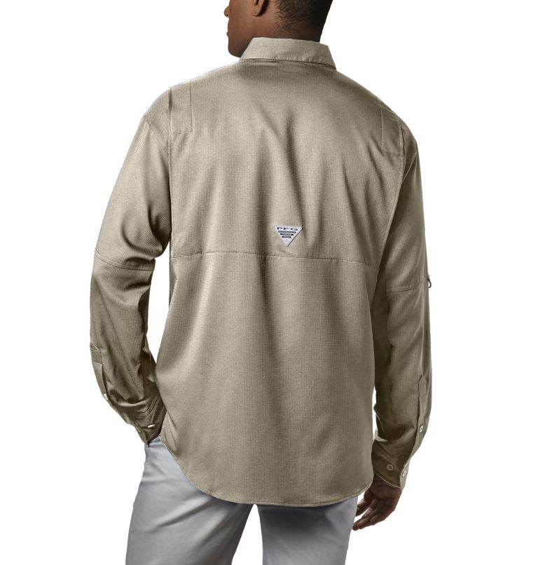 Tamiami™ II LS Shirt | 160 | S Men's PFG Tamiami™ II Long Sleeve Shirt, Fossil, back