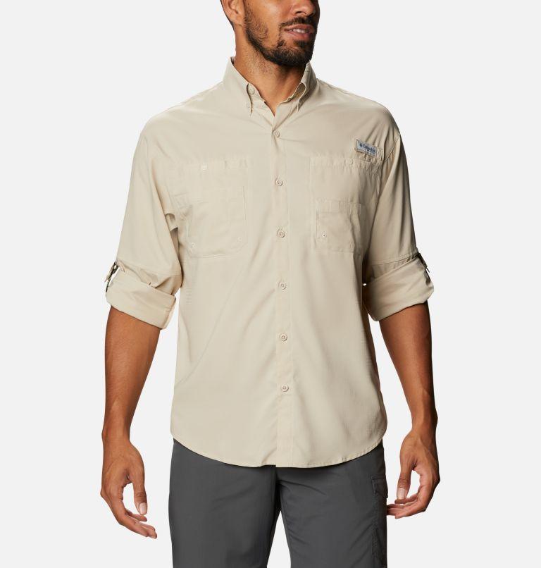 Tamiami™ II LS Shirt | 162 | XXL Men's PFG Tamiami™ II Long Sleeve Shirt, Fossil, Realtree Edge, a4
