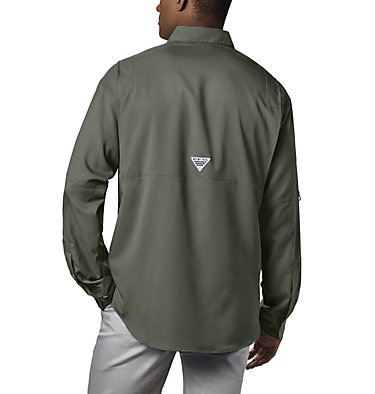Men's PFG Tamiami™ II Long Sleeve Shirt Tamiami™ II LS Shirt | 479 | L, Cypress, back
