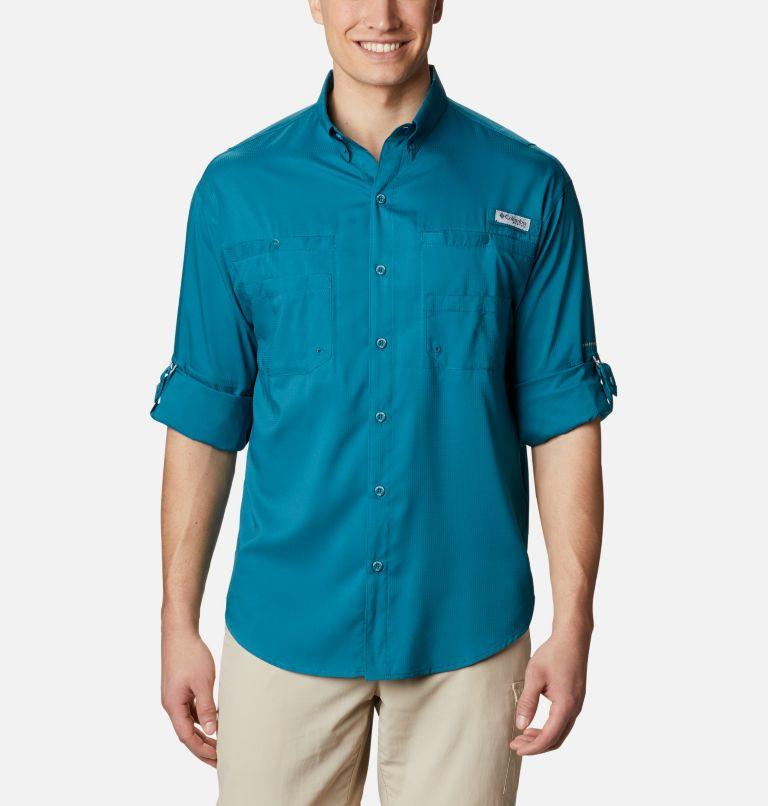 Tamiami™ II LS Shirt   340   S Men's PFG Tamiami™ II Long Sleeve Shirt, Aegean Blue, a4