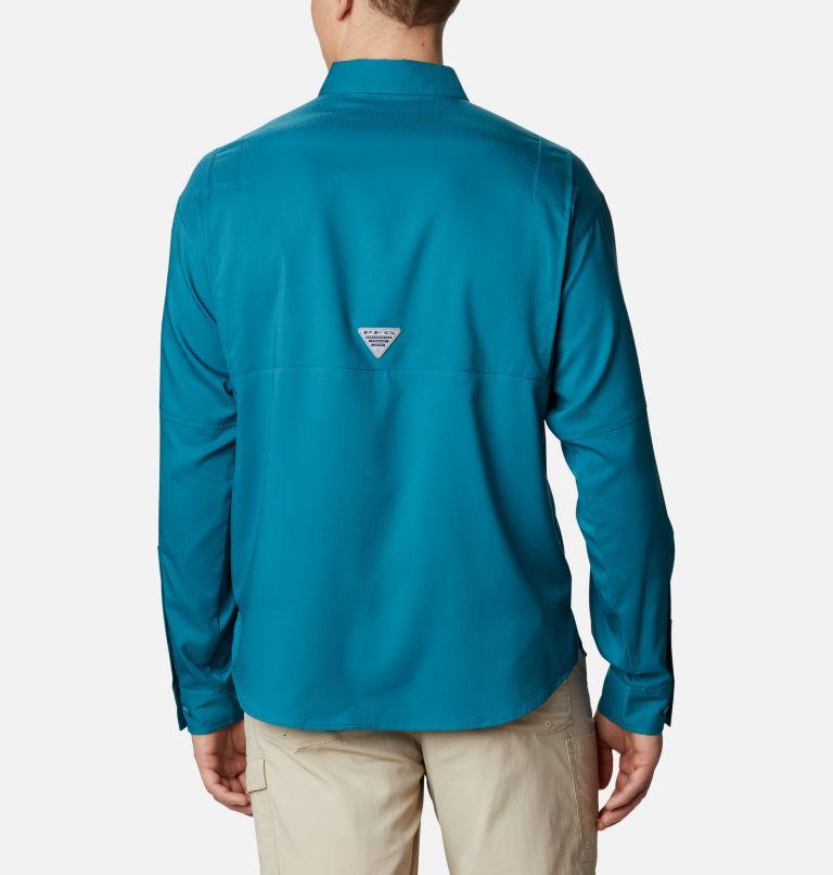 Tamiami™ II LS Shirt   340   S Men's PFG Tamiami™ II Long Sleeve Shirt, Aegean Blue, back