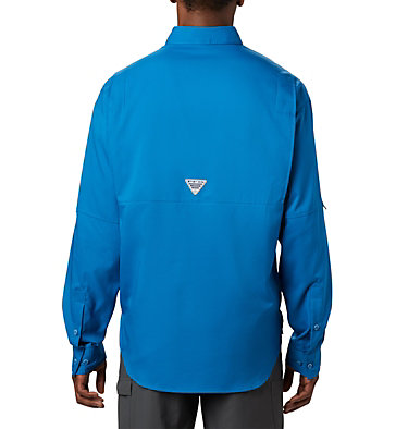 Men's PFG Tamiami™ II Long Sleeve Shirt Tamiami™ II LS Shirt | 440 | L, Dark Pool, back