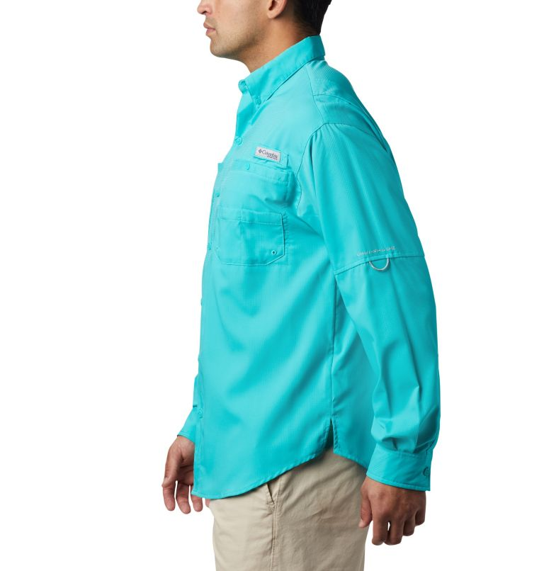 Tamiami™ II LS Shirt | 457 | XL Men's PFG Tamiami™ II Long Sleeve Shirt, Bright Aqua, a1