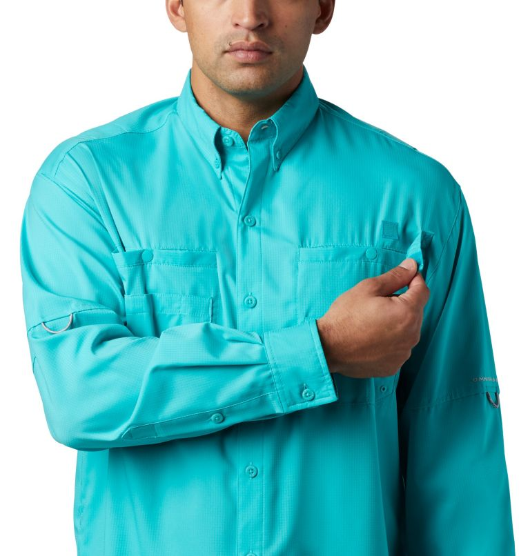 Tamiami™ II LS Shirt | 457 | XL Men's PFG Tamiami™ II Long Sleeve Shirt, Bright Aqua, a2