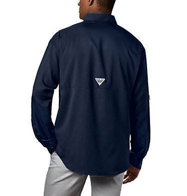 Men's PFG Tamiami™ II Long Sleeve Shirt Tamiami™ II LS Shirt | 479 | L, Collegiate Navy, back