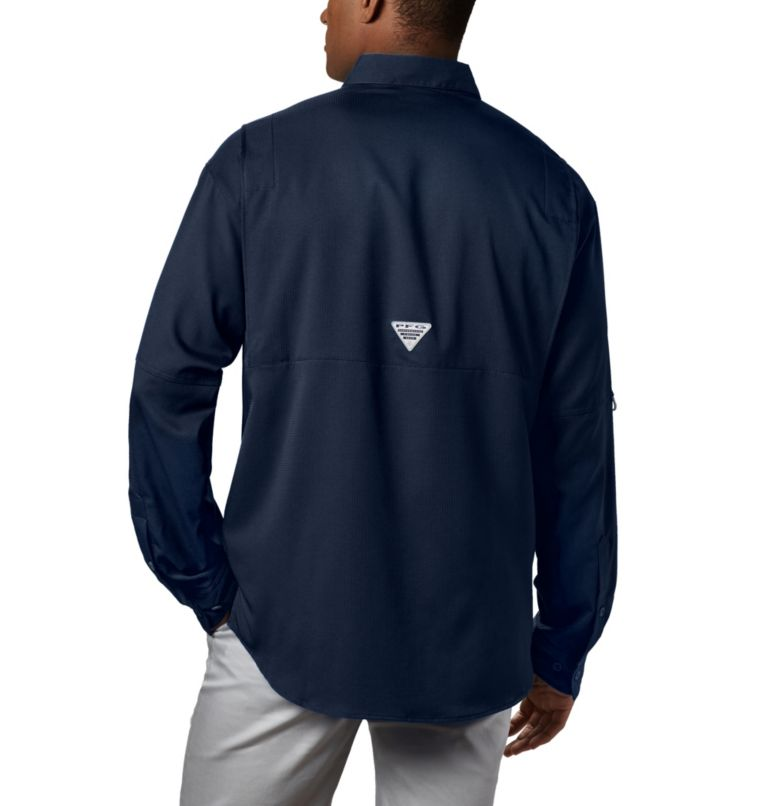 Tamiami™ II LS Shirt | 464 | L Men's PFG Tamiami™ II Long Sleeve Shirt, Collegiate Navy, back