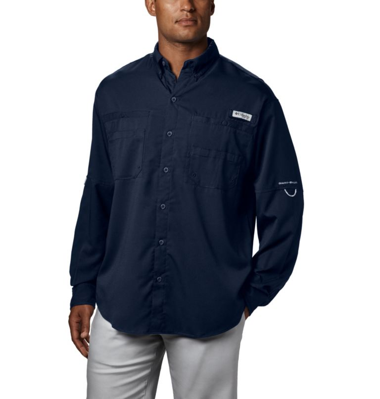 Tamiami™ II LS Shirt | 464 | L Men's PFG Tamiami™ II Long Sleeve Shirt, Collegiate Navy, front