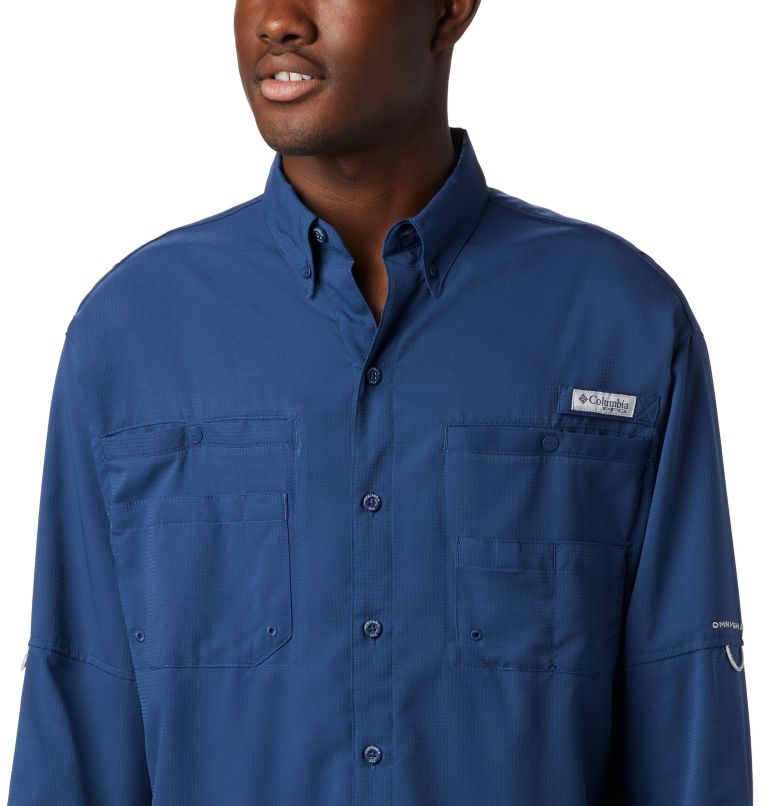 Tamiami™ II LS Shirt | 469 | L Men's PFG Tamiami™ II Long Sleeve Shirt, Carbon, a1