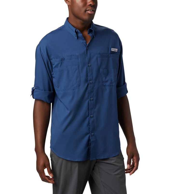 Tamiami™ II LS Shirt | 469 | L Men's PFG Tamiami™ II Long Sleeve Shirt, Carbon, a4