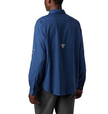 Men's PFG Tamiami™ II Long Sleeve Shirt Tamiami™ II LS Shirt | 479 | L, Carbon, back
