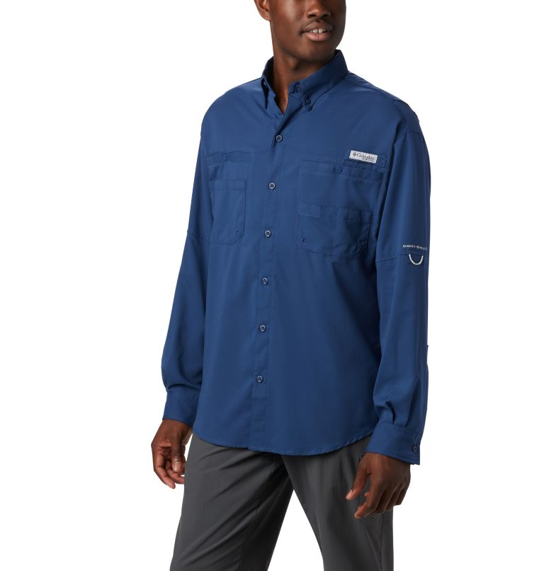 Tamiami™ II LS Shirt | 469 | L Men's PFG Tamiami™ II Long Sleeve Shirt, Carbon, front