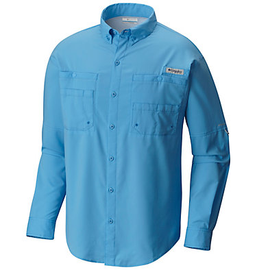 Men's PFG Tamiami™ II Long Sleeve Shirt Tamiami™ II LS Shirt | 479 | L, Yacht, front